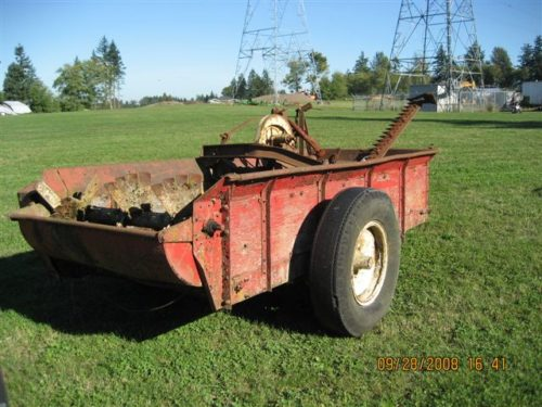 #23- Manure Spreader