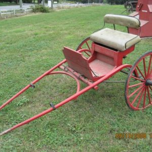 #7- Horse drawn Single horse cart