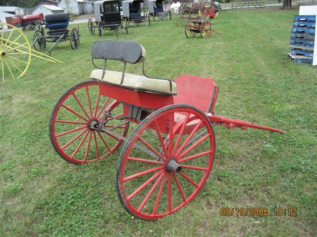 7 Horse Drawn Single Horse Cart Uniquetiques