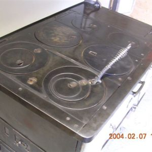 #82 – 1920's CAST IRON STOVE