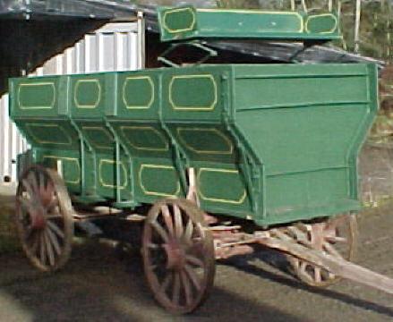 101 Grain Wagon C W Buckboard Uniquetiques