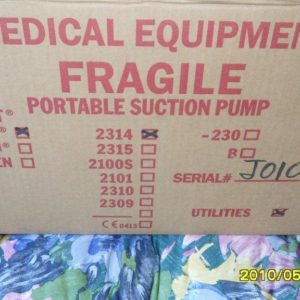 #112 – Medical  Portable Suction Pump
