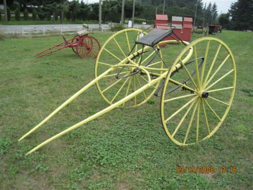 #12- 1920'S Sulky Horse Cart
