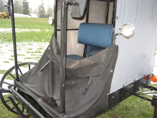 #15- Amish open front  Horse Buggy