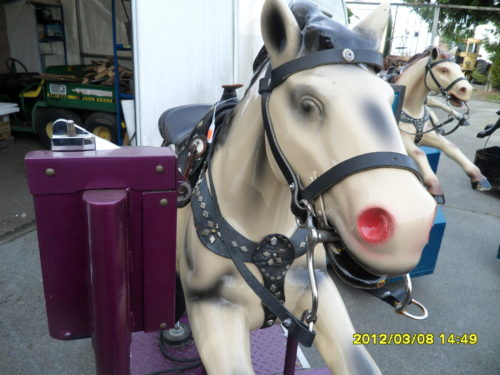 "#279 – Kiddy Ride ""Champion Horse"""