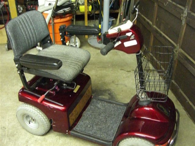 41 Shoprider Mobility Scooter Uniquetiques