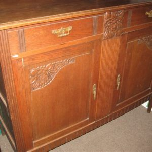 #49 – Oak Belgium Buffet Hutch