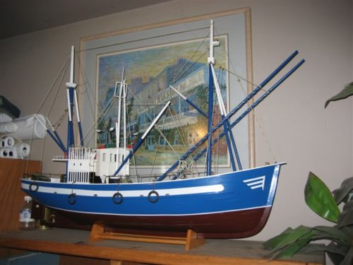 #53 – Model Boat of a Fishing Trawler