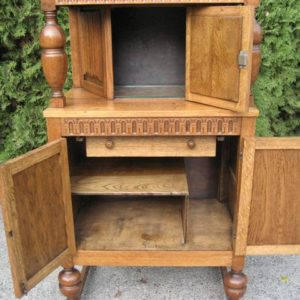 #58 –  Victorian Court Cupboard