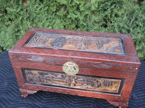 #59 – Collectable Wooden Trunk