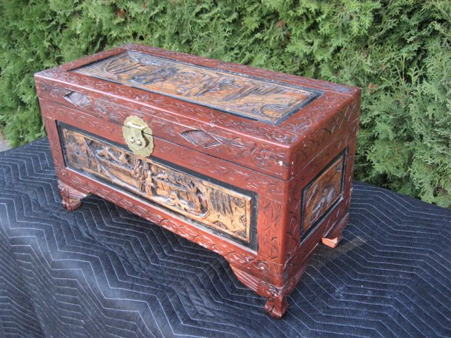 59 Collectable Wooden Trunk Uniquetiques